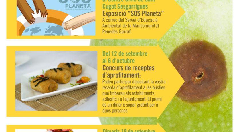 Sant Cugat Sesgarrigues engega una campanya contra el malbaratament alimentari