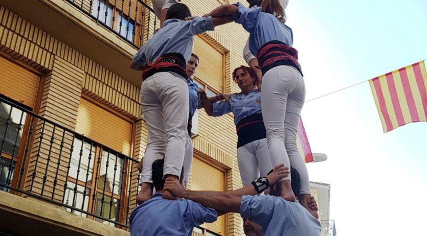 La Colla Jove de Vilafranca torna satisfeta del cap de setmana a Tauste