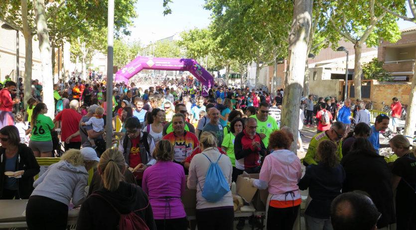 Més de 500 participants a la bicicletada de Santa Margarida i els Monjos