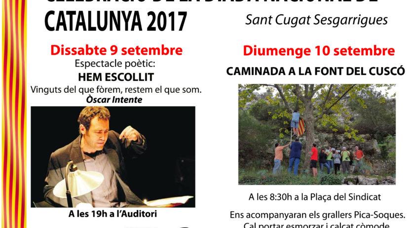 Sant Cugat Sesgarrigues celebrarà la Diada amb un espectacle de poesia i una caminada