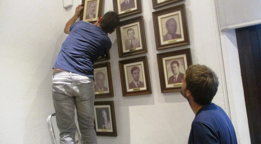 Una foto recorda al primer alcalde democràtic d'Olèrdola