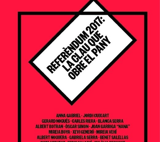 """La llibreria l'Odissea presentarà el llibre """"Referèndum 2017"""", amb Quim Arrufat"""