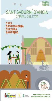 Som Sant Sadurní edita la segona edició del Mapa Turístic Comercial de la Capital de Cava
