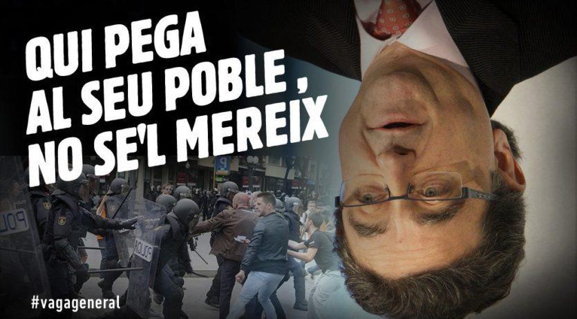 La CUP presenta una moció demanant la dimissió d'Enric Millo i que marxin les forces policials