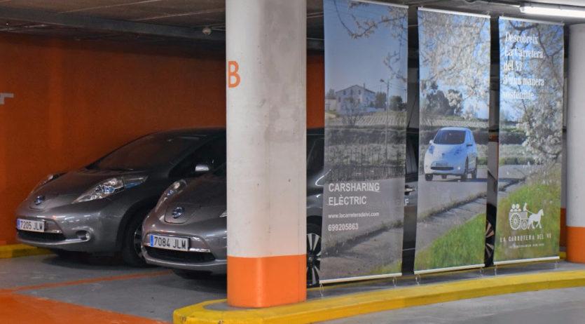 El carsharing de La Carretera del Vi s'instal·la al pàrquing Saba de Vilafranca