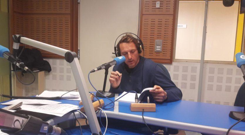 """La presentació del llibre de Santi Borrell """"Mar da Morte"""" a Galícia ha tingut bona acollida"""