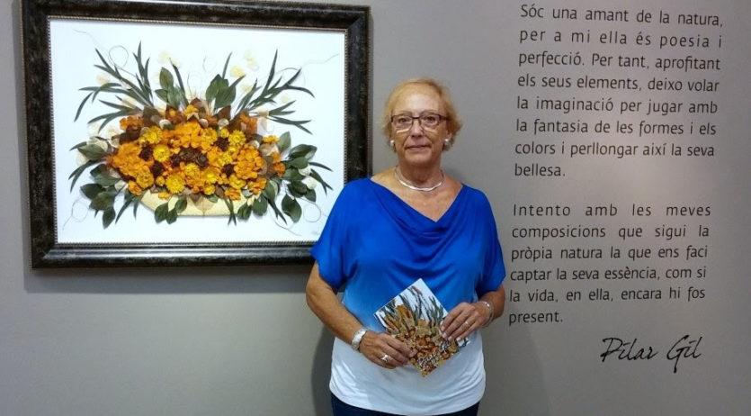 """Pilar Gil exposa les seves """"natures"""" al Fòrum Berger Balaguer de Vilafranca"""