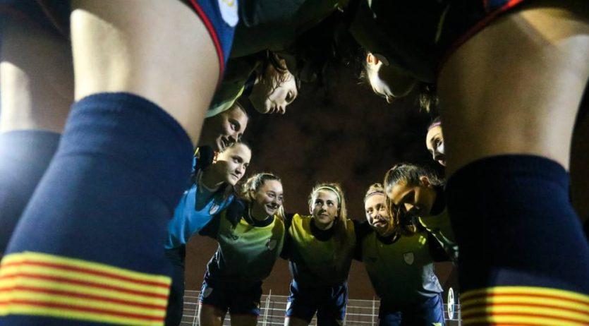 Les seleccions femenines de futbol Sub 16 i Sub 18 jugaran aquest cap de setmana a Vilafranca