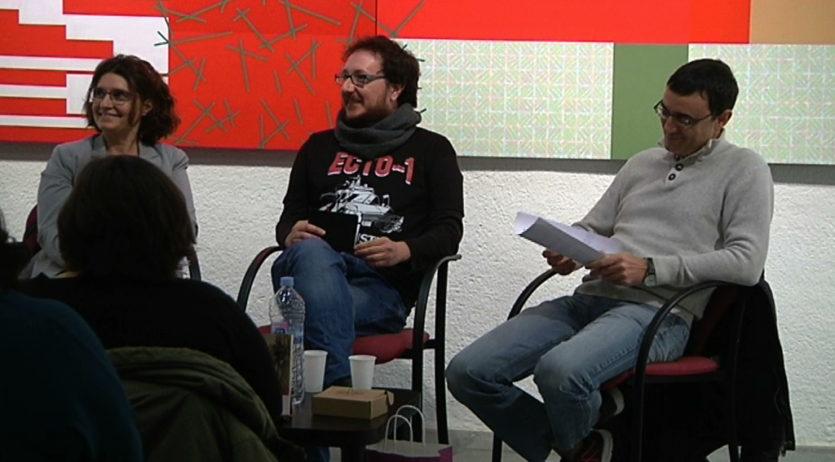 Daniel Jándula ha presentat a Vilafranca 'Tener una vida', una reflexió sobre la societat