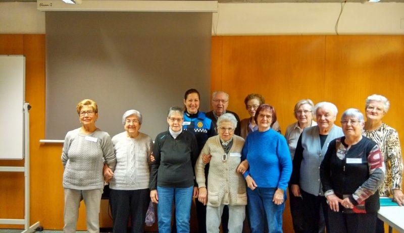 Nou cicle de sessions sobre mobilitat segura per a la gent gran de Vilafranca