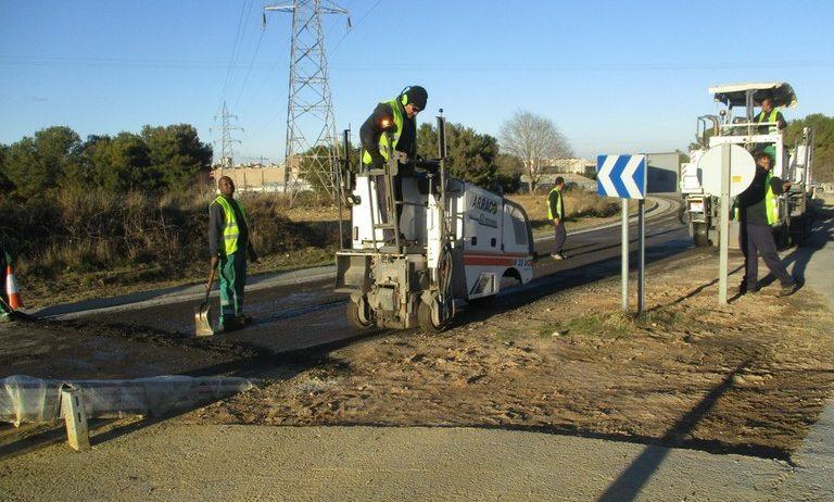 Finalitzar les obres del carril bici de Moja-Vilafranca, pendent del Ministeri de Foment