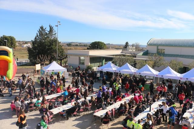 Vilobí aprofita la Duatló de Muntanya dels Pèlags per donar a conèixer els productes locals
