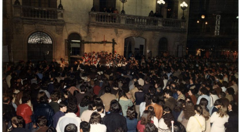 La cantada de Caramelles de Vilafranca celebra enguany el seu 50è aniversari