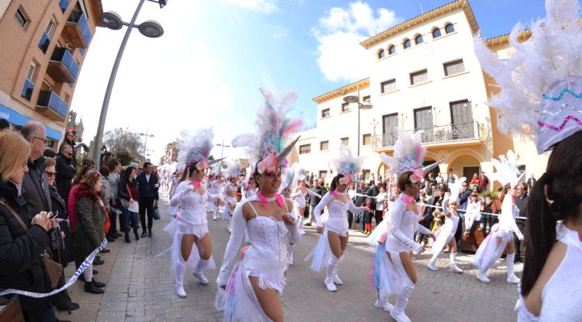 La rua de carnaval dels Monjos d'aquest diumenge en directe per Penedès Televisió