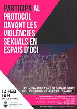 Sant Sadurní prepara un protocol sobre les violències sexuals en espais d'oci
