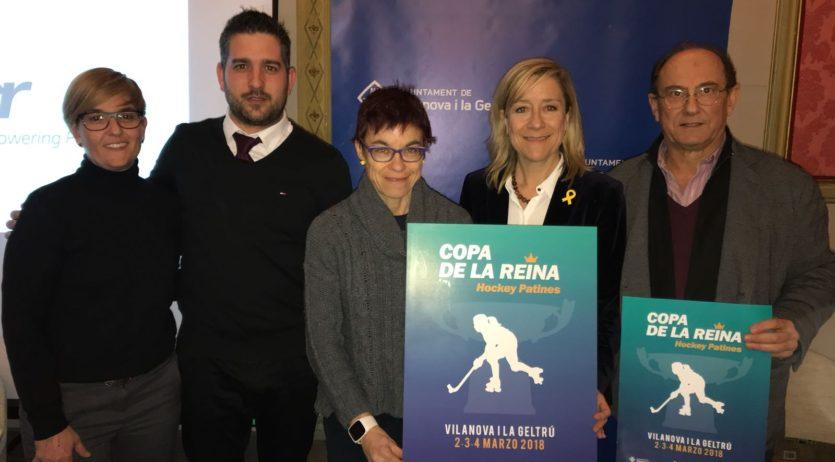 Horaris de la Copa de la Reina d'hoquei patins de Vilanova