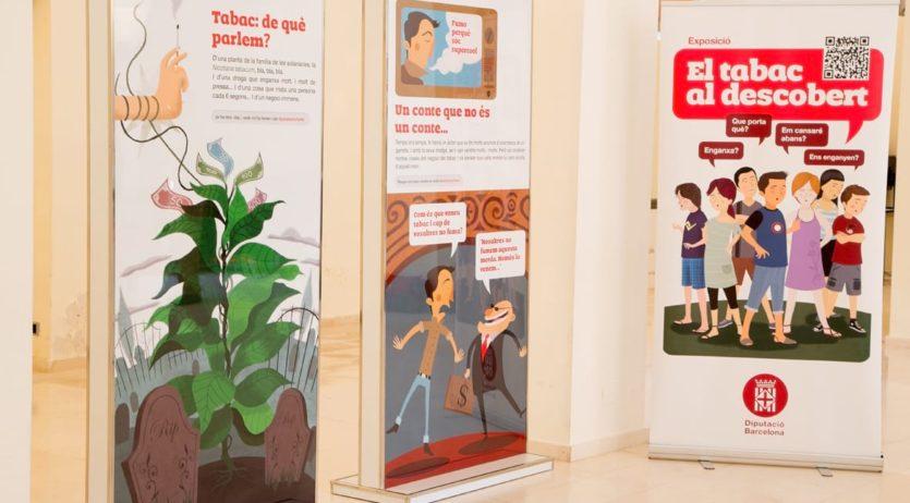 """Sant Sadurní acull una exposició que posa els riscos del tabac """"al descobert"""""""