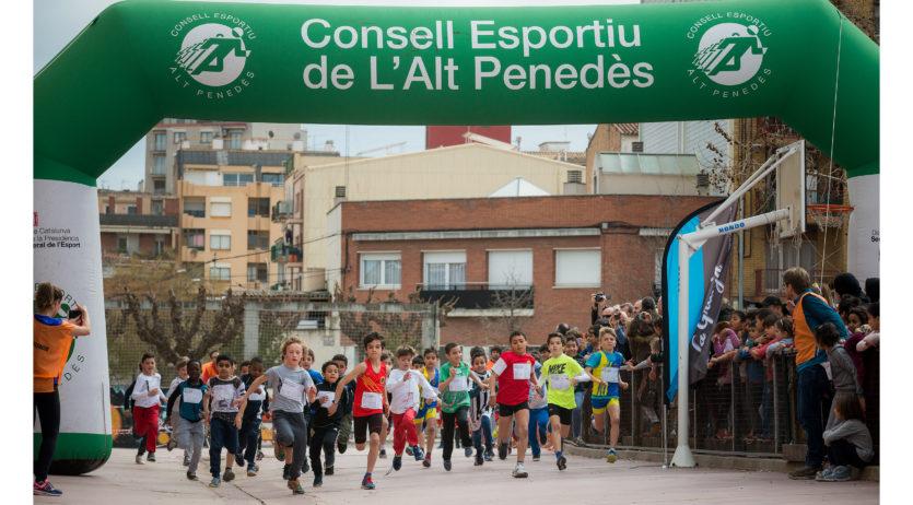 Èxit de participació en el cros escolar del Baltà i Elias de Vilafranca
