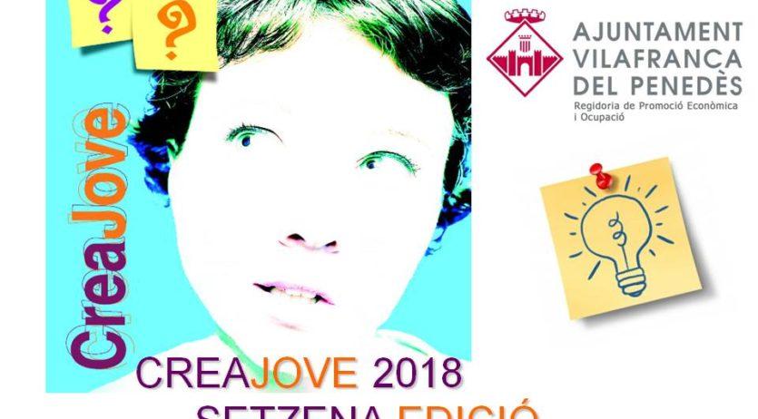 Obert el termini per presentar candidatures a la setzena edició del concurs Creajove