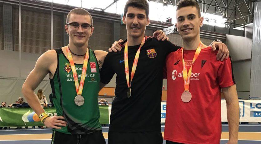 Pol Retamal, nou record d'Espanya als 200 metres Sub 20
