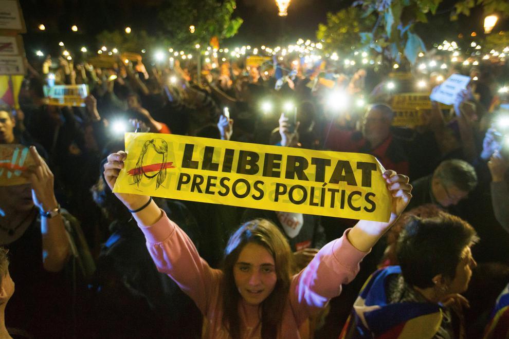 Defensa amb més fermesa els drets dels presos polítics…