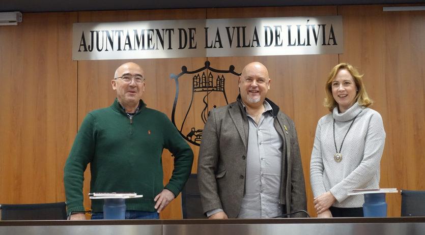 Els Monjos, Lluçà i Llívia revaliden la seva aposta per la transhumància i els camins ramaders