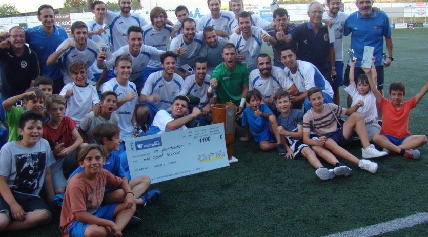 Dilluns se celebrarà el sorteig dels acoblaments de la Copa Ràdio Vilafranca 2018 de futbol