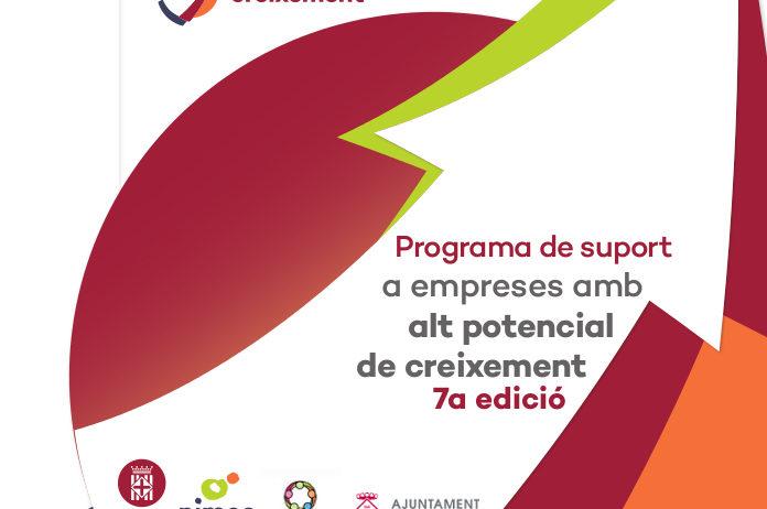 Inscripcions a la jornada de presentació de la 7a edició del programa Accelera el Creixement