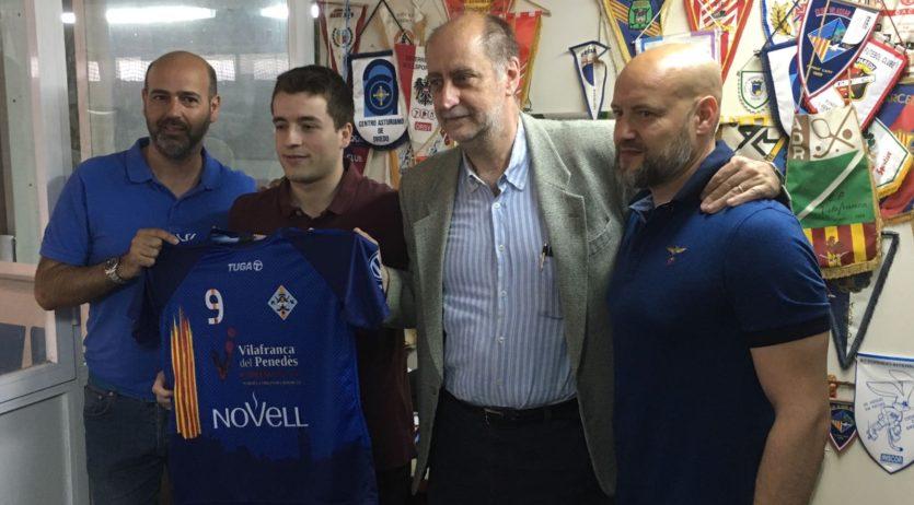 Gabriel Villares es converteix en el primer fitxatge del Patí Vilafranca