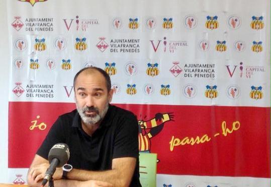 Ivan Moreno continuarà a la banqueta del FC Vilafranca