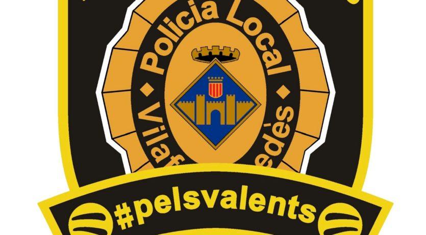 La Policia Local de Vilafranca es mobilitza contra el càncer infantil