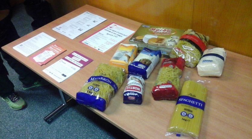 El Banc de Temps de Vilafranca recull 100 quilos d'aliments pel rebost solidari
