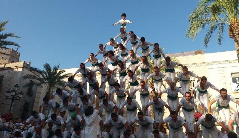 Els Falcons de Vilafranca completen l'Escala de 10 a la XVII Trobada Nacional de Falcons