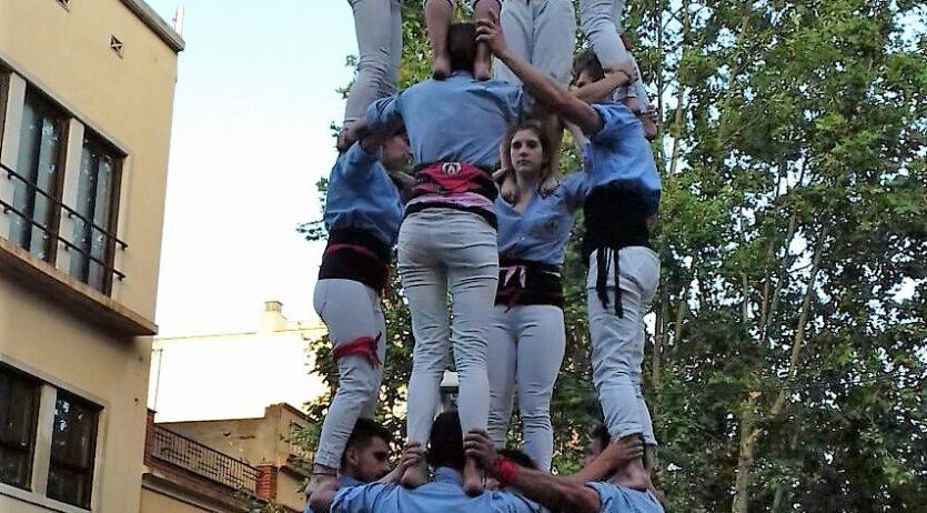 La Jove va actuar a Festa Major de Gavà, amb una bona diada de castells de 6