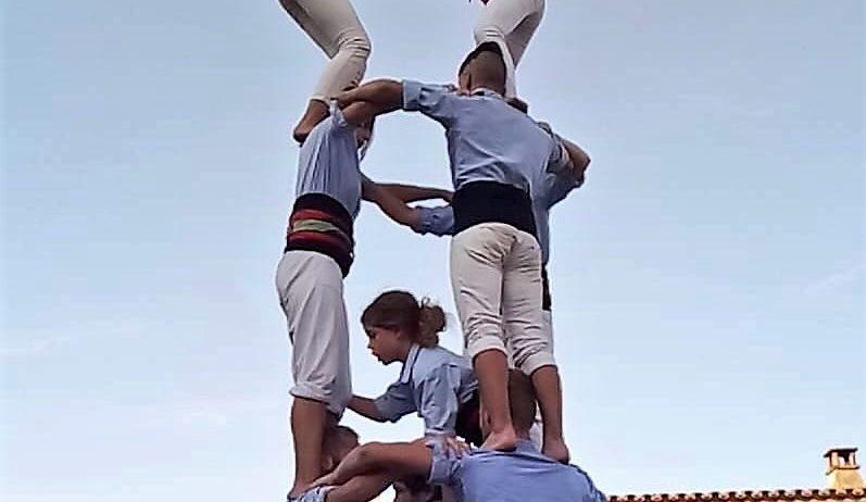 La Jove de Vilafranca ha actuat a la Festa Major de Gelida