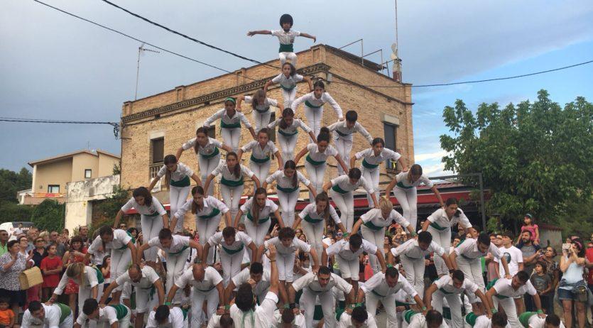 Els Falcons de Vilafranca han ofert una gran actuació a Sant Quintí amb l'escala de 10