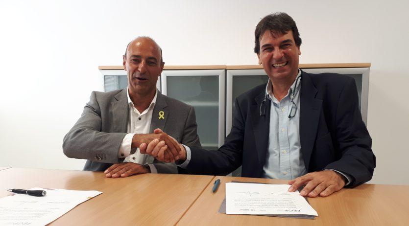 L'Escola d'Enoturisme i la FEGP signen un conveni de col·laboració