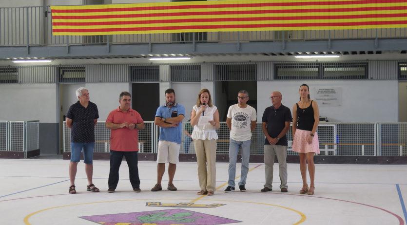 S'ha inaugurat la remodelació de la pista dels Monjos