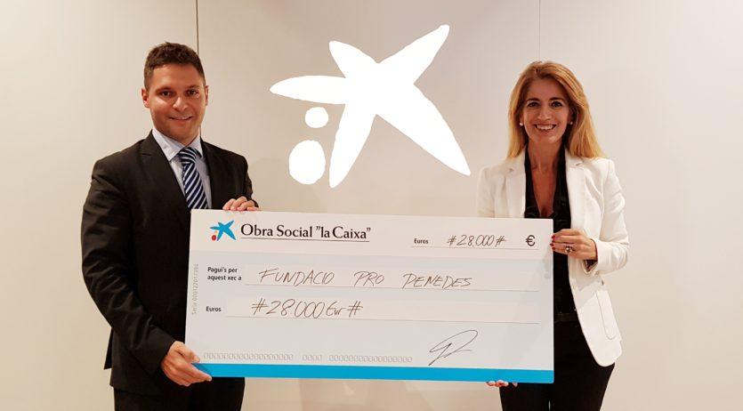 """La Fundació Pro-Penedès rep 28.000€ de l'Obra Social """"la Caixa"""" per a Inserció Socio-Laboral"""