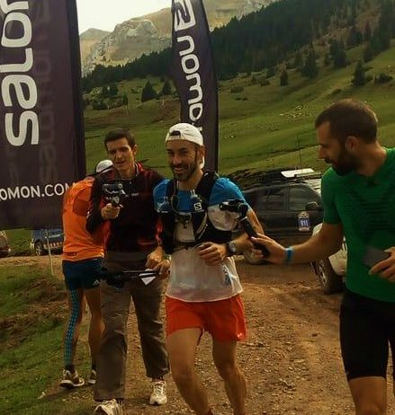Joan Morera realitza va una gran actuació a l'Ultra Pirineu