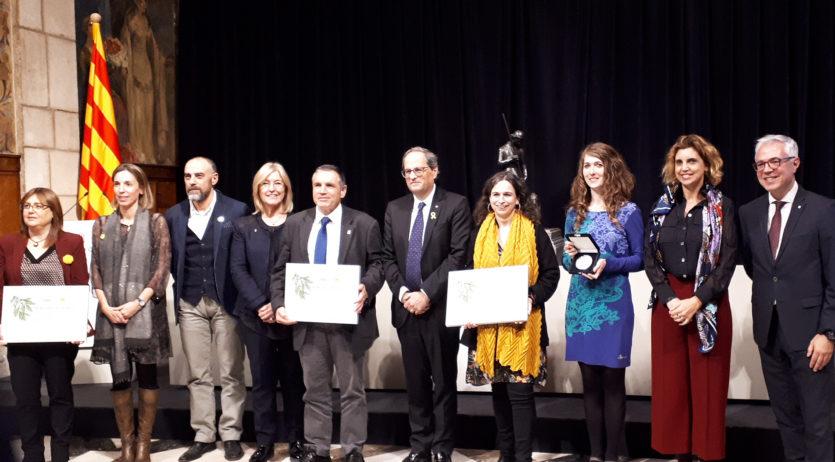 El Camí del Vi rep el premi a la millor experiència turística del Turisme de Catalunya