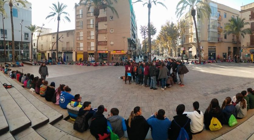 Els esplais del Penedès i el Garraf celebren la Diada dels Drets dels Infants a Vilafranca