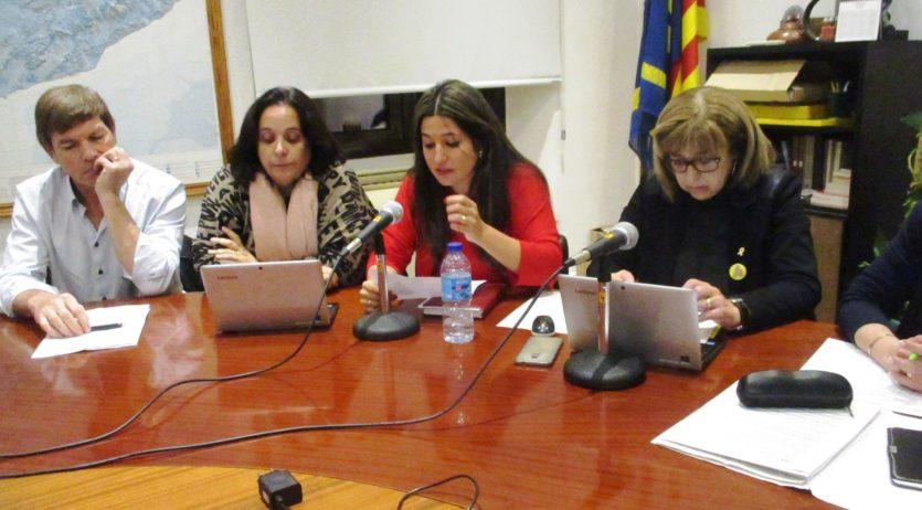Vanesa López s'acomiada com a regidora del PDeCAT en el darrer ple a Olèrdola
