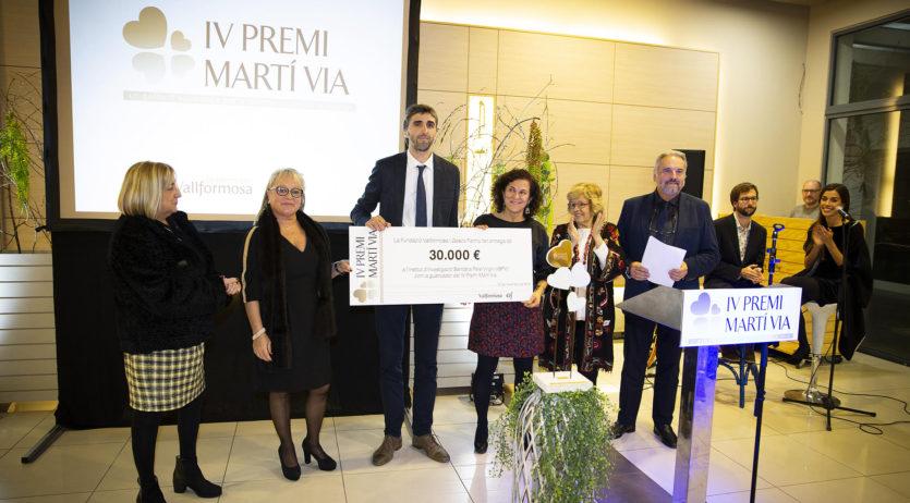 Fundació Vallformosa lliura el Premi Martí Via a l'Inst. d'Investigació Sanitària Pere Virgili