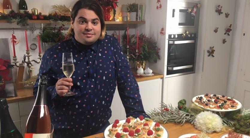 L'actor Brays Efe protagonitza la campanya de Nadal de la DO Cava a xarxes socials