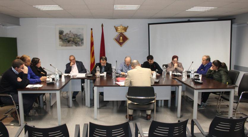 El plenari de l'Ajuntament de Sant Martí Sarroca aprova el pressupost municipal per al 2019
