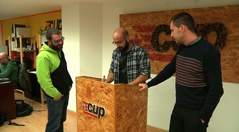 La CUP de Vilafranca demana la retirada del Pla del carrer Comerç