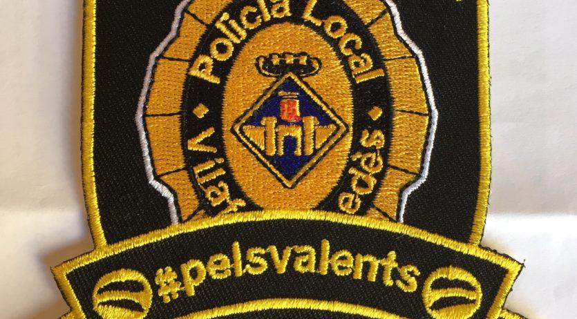 La Policia Local de Vilafranca recapta 2.000 € amb la venda dels escuts solidaris #pels valents