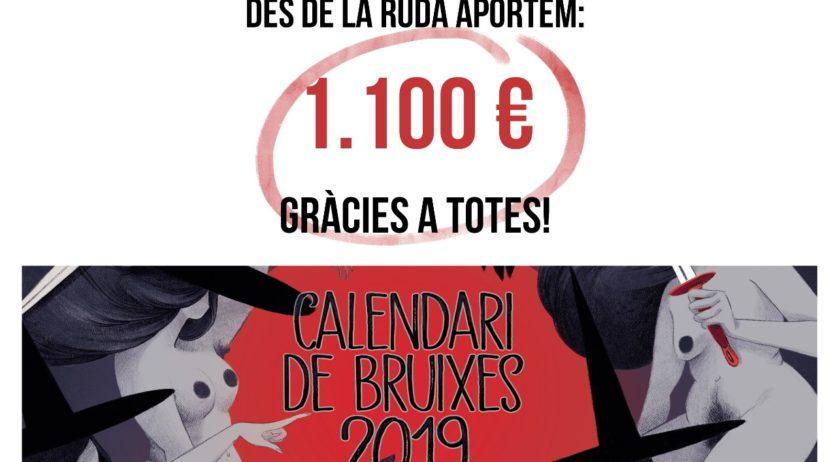 La Ruda aporta 1.100 euros a una casa d'acollida per a persones refugiades i migrades