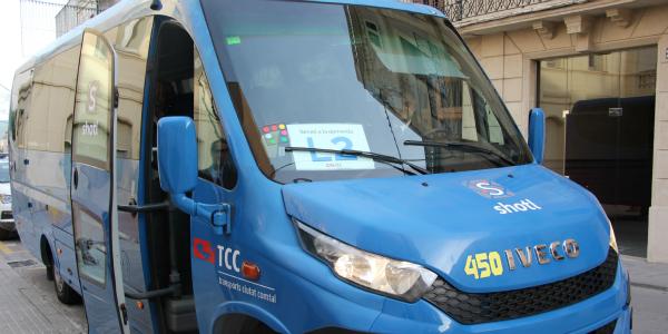 El 4 de març torna la línia L2 del bus urbà de Sant Sadurní